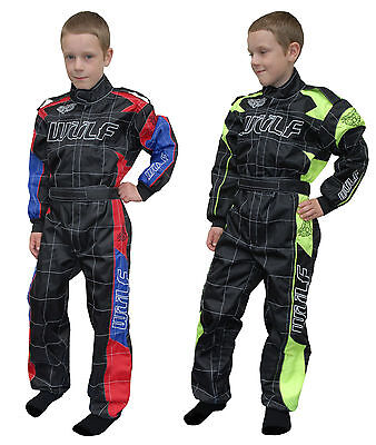 Wulfsport Cub Kid Youth MX Motocross Enduro Pit Lane Racing Grand Prix Race Suit