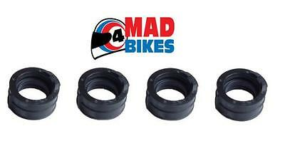 Yamaha XJ600 N XJ600 S Diversion Carburettor to Head Rubbers, Carb Inlet Rubbers