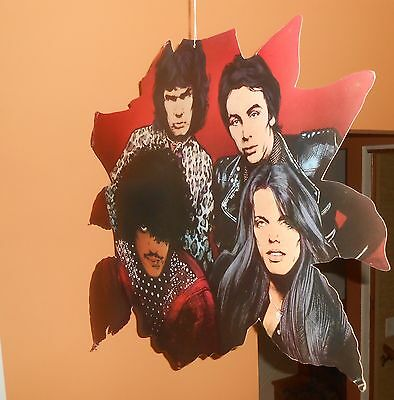 Thin Lizzy Black Rose Display Mobile Cardboard Poster 1979 Promo 24x24 RARE
