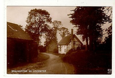 LEICESTERSHIRE.  BRAUNSTONE. Nr. LEICESTER.