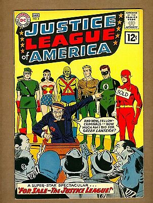 Justice League of America #8 (Nice!) Letter from Roy Thomas; DC; 1961 (c#10987)