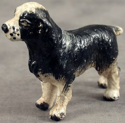 ENGLISH SPRINGER SPANIEL Cast Iron MINIATURE STATUE PAPERWEIGHT