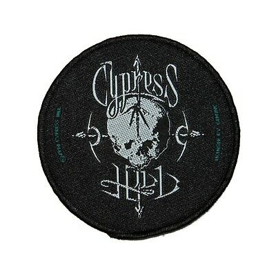 """Cypress Hill"" Arrow Skull Logo Hip-Hop Rock Music Band Sew On Applique Patch"