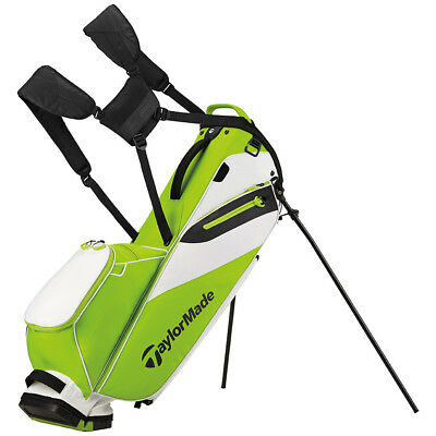 TaylorMade FlexTech Lite Golf Stand Bag Green/White 2017 Carry Bag New