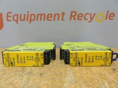 Pilz PNOZ X2P 24VACDC 2n//o Safety Relay 777303