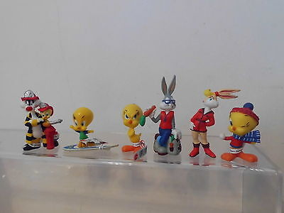 Bugs Bunny Loone Tunes 6 x Figur Bully land mit Sylvester,Lola,Tweety -Set-