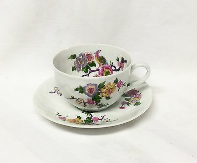 Bernard and Limoges Bengali Vannerie Shape Cup & Saucer