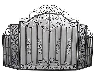 grilles de foyer chenets chemin es accessoires maison 936 items picclick fr. Black Bedroom Furniture Sets. Home Design Ideas