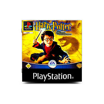 original instruction manual for PS1 Game HARRY POTTER AND THE CHAMBER OF THE