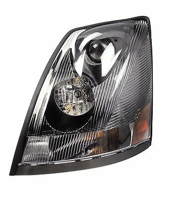 For Volvo VNM VNL VN 04-15 Driver Left Clear Headlight Assembly Dorman 888-5506
