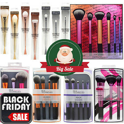 UK Real Techniques Make up Brushes Core Collection/Travel Essentials/Starter Set