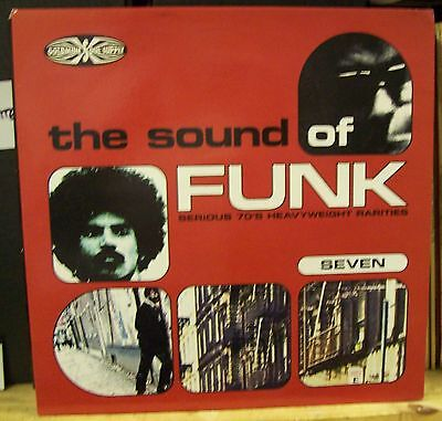 VARIOUS ARTISTS Sound Of Funk Volume Seven UK  Vinyl LP EXCELLENT CONDITION 7