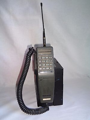 VINTAGE OLD NOKIA MOBIRA OY BRICK MOBILE PHONE 1980s GOOD CONDITION + WORKING