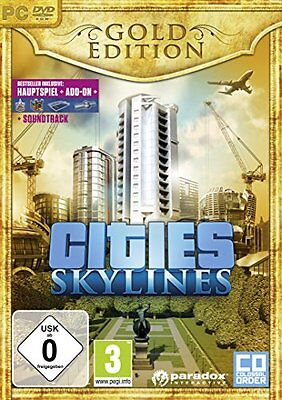 Pc-Cities: Skylines Gold Edition [De-Version]-Software  New
