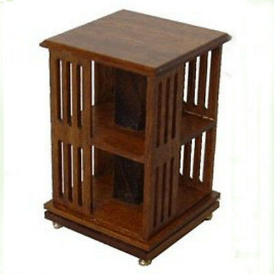 24th scale Dolls House Mcqueenie Revolving Bookcase Kit