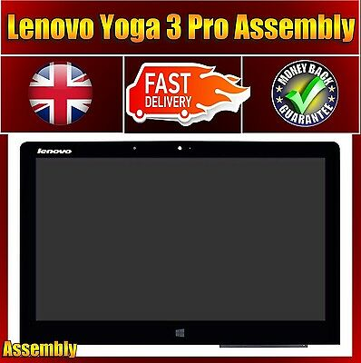 Lenovo Yoga 3 Pro 1370 Touch Screen Digitizer + LCD Display Panel LTN133YL03-W01