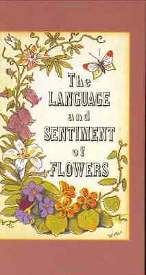 The Language and Sentiment of Flowers - James McCabe NEW Hardcover
