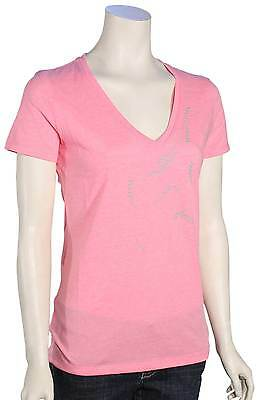 Fox Projected V-Neck Women's T-Shirt - Neon Pink - New