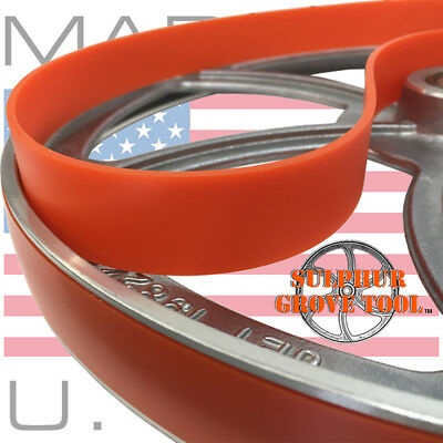 """Quality Urethane Band Saw Tires for 14"""" Grizzly G1019Z--Replaces Part # P1019025"""