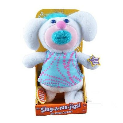 Mattel Sing A Ma Jings Frost Love Singing Together White Blue