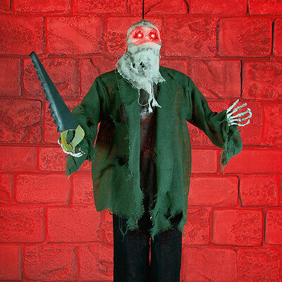 90Cm Battery Powered Animated Halloween Party Decorative Prop Slasher Led Light