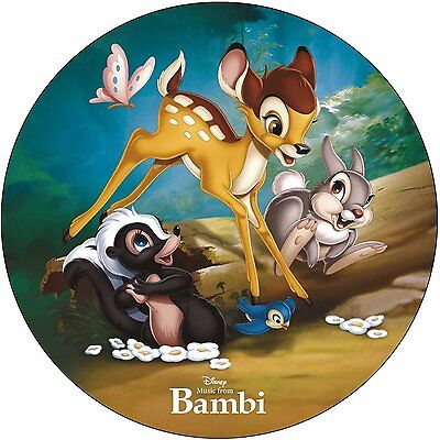 DISNEY - MUSIC FROM BAMBI PICTURE DISC VINYL LP (Released 18/11/16)