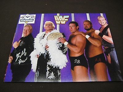 "Wrestling Hall Of Fame Legend Bobby ""the Brain"" Heenan Autographed 8X10 W/ Coa"
