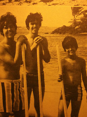 1 english clipping DONNY OSMOND SHIRTLESS WET TEEN OSMONDS 70`s SINGER BOYS BOY
