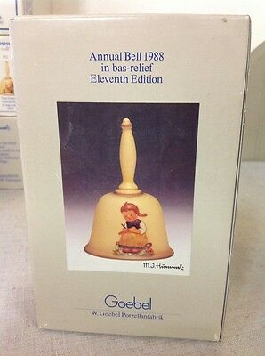 Vintage Hummel Annual Bell In Box- 1988 Eleventh Edition