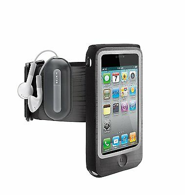 Belkin FastFit Sport Armband Arm Holder w/Key Pocket + Clip for iPhone 4s/4 USED