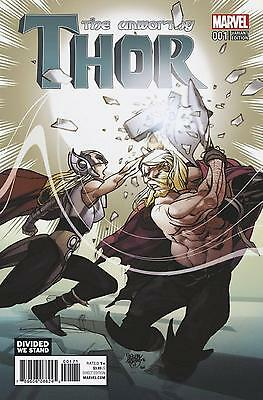 Unworthy Thor #1 Ferry Divided We Stand Variant Cover Marvel Comics