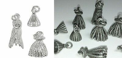 Antiqued Silver Plated Pewter Charms 4761 4 Pcs TierraCast Open Cat Charms
