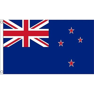 3 x 2' New Zealand Flag - 3ft 2ft National Country Metal Eyelets