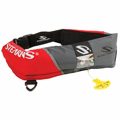 Stearns 0340 16 Gram Manual Inflatable Belt Pack red [2000013885] new in bag
