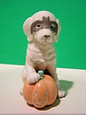 LENOX MASQUERADE PUPPY Halloween NEW in BOX with COA October Dog