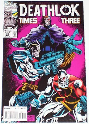 Deathlok #33 from March 1994 VF+ to NM-