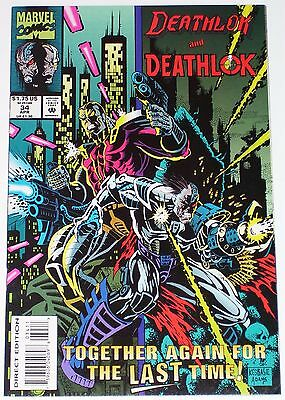 Deathlok #34 from April 1994 VF to VF/NM