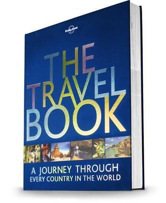 NEW The Travel Book By Lonely Planet Hardcover Free Shipping