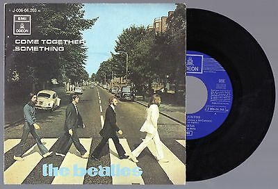 THE BEATLES Come Together/Something 1969 Original Odeon Spain Single 45 PS