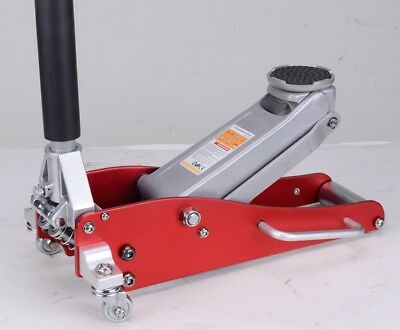 Low Profile Aluminium Quicklift Racing Trolley Jack 1.5 Ton Dual pump GS/CE 6913