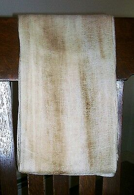 "Primitive Grungy Cheesecloth Fabric 36""  x 4 yards 34"""