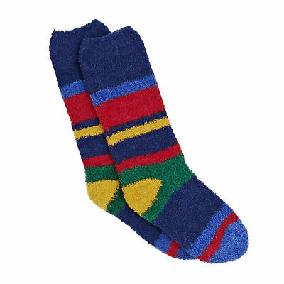 Joules Socks - Joules Junior Fluffy Sock  - Multi Stripe