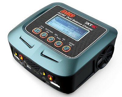 Caricabatterie D100 Dual Balance Charger-Discharger SK-100089 - skyrc modellismo