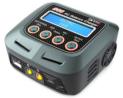 Caricabatterie S60 Professional Charger/Discharger SK-100106 - skyrc modellismo