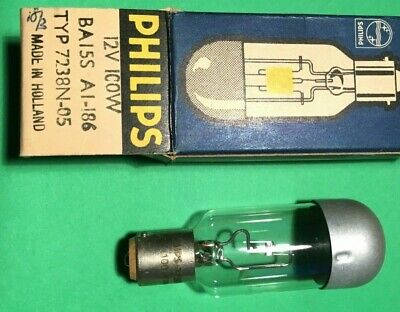 Projector bulb lamp A1/186 12V 100W BA155 type 7238N-05  new NEW..... 7   fx