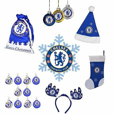 CHELSEA F.C - Official CHRISTMAS Merchandise (Xmas Gifts/Decorations/Fan)