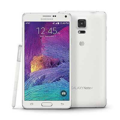 Samsung Galaxy Note 4 IV SM-N910F 32 Go 16Mpx Android LTE neuf libre french blan