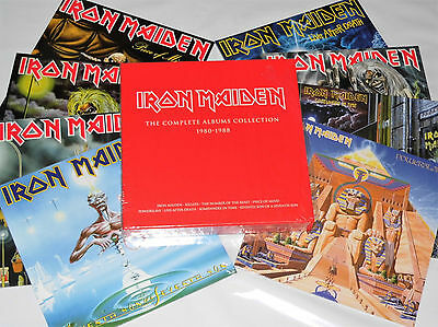 LP-BOX: Iron Maiden - The Complete Albums Collection 1980-1988, NEU & OVP (A9/6)