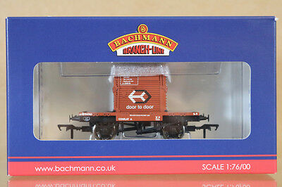 BACHMANN 37-961 BR BAUXITE CONFLAT WAGON M704762 with TYPE A CONTAINER MIB ng