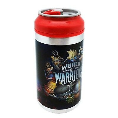 World Of Warriors 500ml Aluminium Can - Bottle Official School Water Drinks